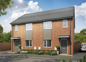 Thumbnail 3 bedroom semi-detached house for sale in St Modwen Homes, Egstow Park, Off Derby Road, Clay Cross, Chesterfield