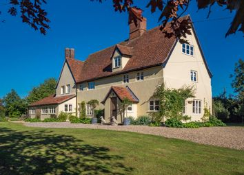 Thumbnail 7 bed farmhouse for sale in Hitcham, Ipswich, Suffolk