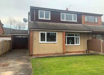 Thumbnail 4 bed semi-detached house for sale in Cedar Close, Grimsargh, Preston, Lancashire