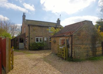 Thumbnail 3 bed cottage for sale in Church Lane, Anwick, Sleaford