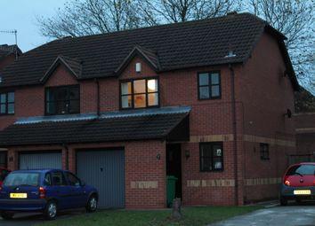 Thumbnail 3 bed semi-detached house to rent in Bedarra Grove, Lenton, Nottingham