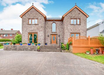 Thumbnail 4 bed detached house for sale in Upper Coed Cae Road, Pontypool