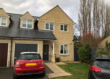 Thumbnail 3 bedroom semi-detached house for sale in Sherwood Close, Launton, Bicester