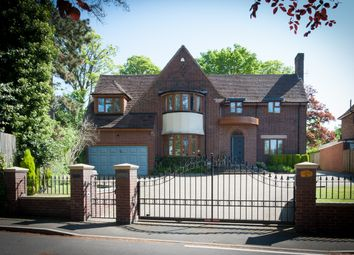 Thumbnail 6 bed detached house for sale in Tudor Hill, Sutton Coldfield
