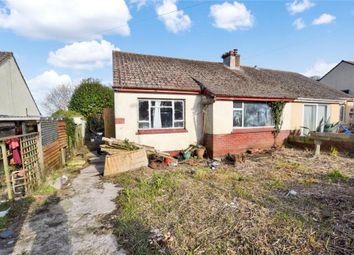 Thumbnail 2 bedroom semi-detached bungalow for sale in Southdown Avenue, Brixham, Devon