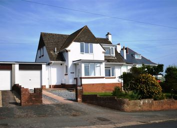 Thumbnail 3 bed detached house for sale in Hulham Road, Exmouth, Devon