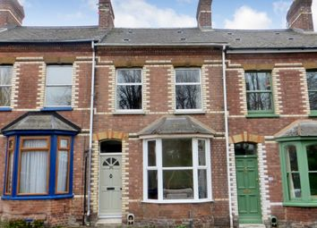 Thumbnail 2 bedroom terraced house to rent in Temple Road, St. Leonards, Exeter