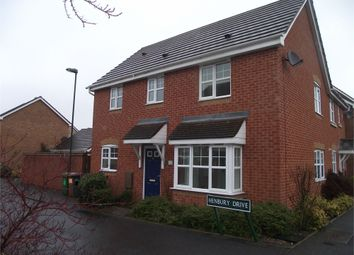 Thumbnail 3 bed semi-detached house to rent in Henbury Drive, Chelmsley Wood, Birmingham