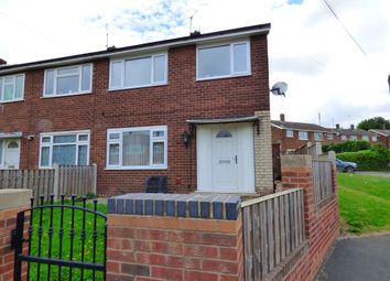 Thumbnail 3 bed semi-detached house to rent in Whitebeam Green, Pontefract, West Yorkshire