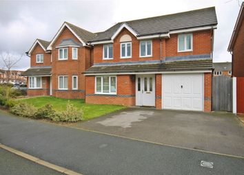 Thumbnail 4 bedroom detached house for sale in Snowberry Crescent, Warrington