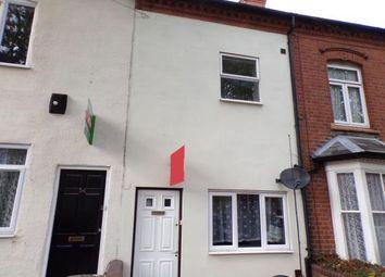 Thumbnail 3 bed terraced house for sale in Lottie Road, Selly Oak, Birmingham, West Midlands