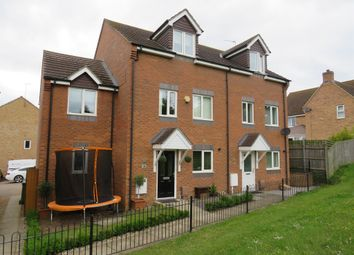 Thumbnail 4 bed semi-detached house for sale in Ludlow Walk, Corby