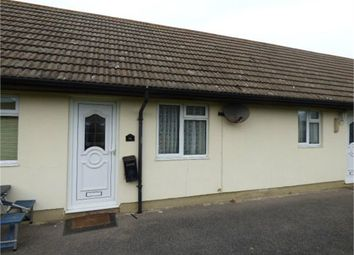 Thumbnail 1 bed terraced bungalow for sale in Brookside, Minster On Sea, Minster, Kent