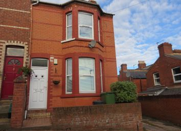 Thumbnail 3 bed end terrace house to rent in Kings Road, Exeter