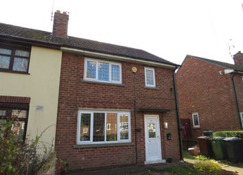 Thumbnail 2 bed semi-detached house for sale in Redbourne Drive, Lincoln