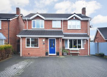Thumbnail 4 bed detached house for sale in Hopedale Close, Westbury Park, Newcastle-Under-Lyme