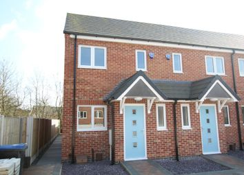 Thumbnail 3 bed end terrace house for sale in Westfield Road, Hinckley
