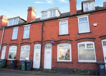 Thumbnail 3 bedroom terraced house for sale in Alexandra Road, Tipton