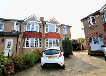 Thumbnail 3 bed semi-detached house for sale in Waltham Close, Crayford, Dartford
