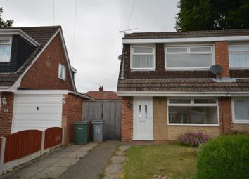 Thumbnail 3 bed semi-detached house to rent in Bramhall Drive, Eastham