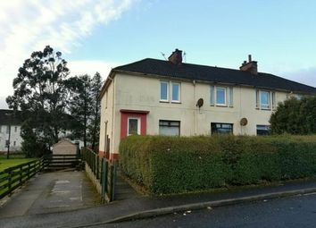 Thumbnail 3 bed flat for sale in Park Crescent, Stewarton, Kilmarnock, East Ayrshire