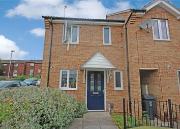 Thumbnail 2 bedroom end terrace house for sale in Dunire Close, Leicester