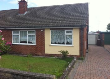 Thumbnail 2 bed semi-detached bungalow to rent in Roseacre Lane, Blythe Bridge, Stoke-On-Trent