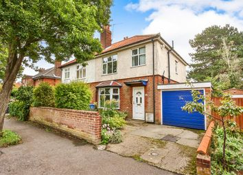 Thumbnail 3 bedroom semi-detached house for sale in Grange Road, Norwich