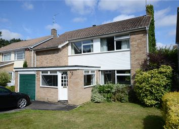 Thumbnail 4 bedroom detached house for sale in Tower Close, Emmer Green, Reading