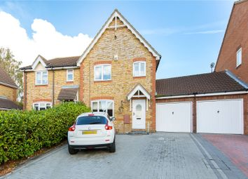 Thumbnail 3 bed semi-detached house for sale in Quilters Drive, Billericay, Essex