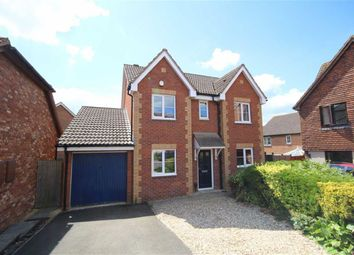 Thumbnail 4 bedroom detached house for sale in Hinkson Close, St Andrews Ridge, Swindon