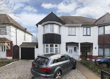 Thumbnail 3 bed semi-detached house for sale in Ashton Gardens, Chadwell Heath, Romford