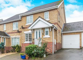 Thumbnail 3 bed link-detached house for sale in Cherry Tree Close, Halstead