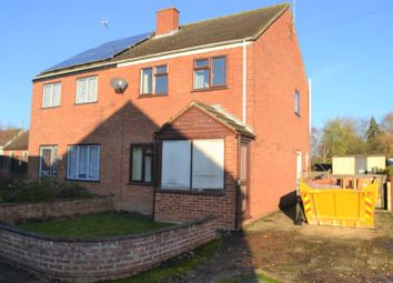 Thumbnail 3 bed semi-detached house for sale in Orchard Way, Terrington St. John, Wisbech
