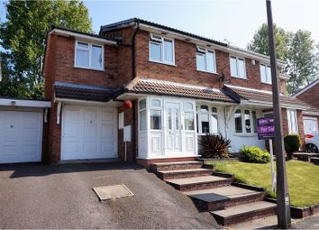 Thumbnail 3 bed semi-detached house for sale in Gurnard Close, Willenhall