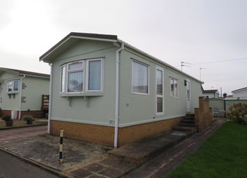 Thumbnail 2 bed mobile/park home for sale in Beach Farm Caravan Park, Arbor Lane, Lowestoft