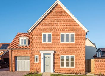 Thumbnail 3 bedroom detached house for sale in Barn Owl Drive, Holt