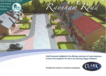 Thumbnail 4 bedroom detached house for sale in Belford, Raynham Road, Plot 38, The Bamburgh