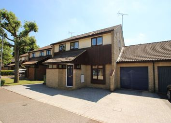 Thumbnail 4 bed link-detached house for sale in The Gallops, Langdon Hills, Basildon
