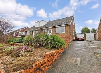 Thumbnail 3 bed semi-detached bungalow for sale in Fieldhead Close, Pontefract