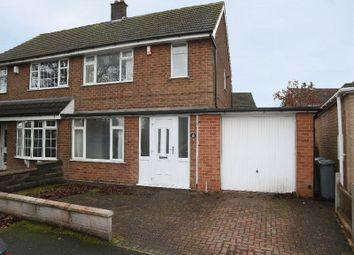 Thumbnail 2 bed semi-detached house for sale in York Road, Weston Coyney, Stoke-On-Trent, Staffordshire