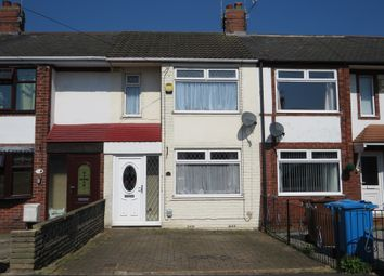 Thumbnail 2 bed terraced house for sale in Worcester Road, Hull