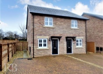 Thumbnail 2 bed semi-detached house for sale in Forster Close, Galgate, Lancaster