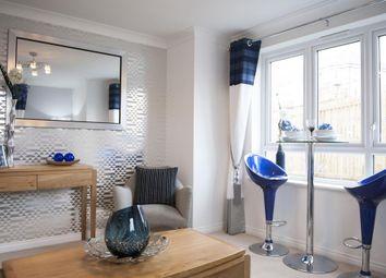 "Thumbnail 2 bedroom flat for sale in ""The Burrell 2 Plot 83 Third Floor "" at Hopepark Drive, Cumbernauld, Glasgow"