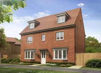 "Thumbnail 5 bed detached house for sale in ""Warwick"" at Dorman Avenue North, Aylesham, Canterbury"