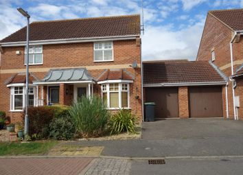 Thumbnail 2 bed semi-detached house to rent in Walcot Close, Oundle, Peterborough
