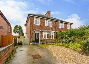 Thumbnail 3 bed semi-detached house for sale in Harby Avenue, Mansfield Woodhouse, Mansfield