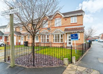Thumbnail 3 bed semi-detached house for sale in Jasmine Grove, Kingswood, Hull