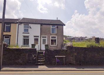 Thumbnail 2 bed end terrace house to rent in Commercial Street, Mountain Ash