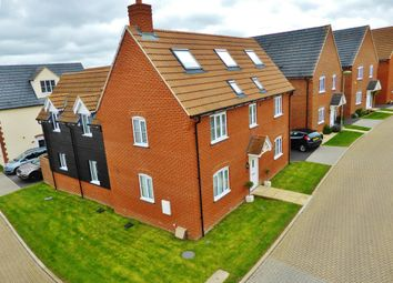 Thumbnail 5 bed detached house for sale in Kingfisher Drive, Didcot